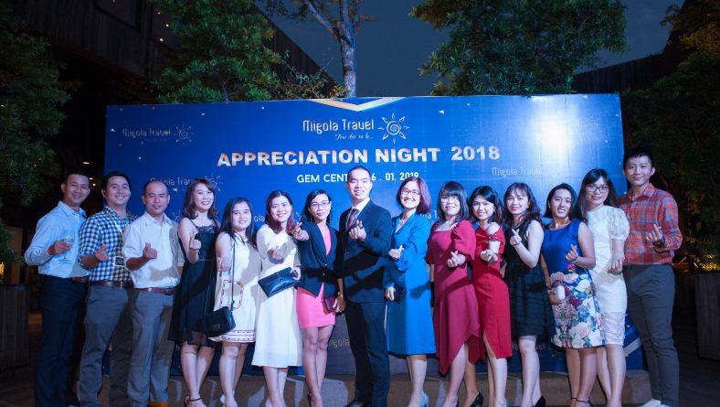 Appreciation Night  – Đêm tiệc Tri Ân Khách Hàng và đánh dấu cột mốc 5 năm thành lập